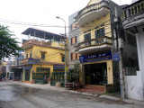 These are more ceramic shops on the main street of Bat Trang.