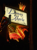 Donnie and Marie were the main attraction at the Flamingo Hotel & Casino when I was in Las Vegas.
