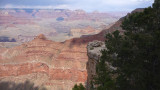 Striations formed in the sedimentary rock during the Grand Canyon's 200 million to nearly 2 billion year history.