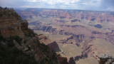 Ninety percent of tourists see only the South Rim of the Grand Canyon, since it is easily accessible and the main road.