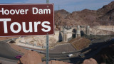 The Hoover Dam is located in the Black Canyon of the Colorado River, on the border between Arizona and Nevada.
