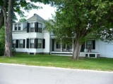 The Homestead is furnished exactly as it was when Calvin Coolidge took the Oath of Office, administered by his father.