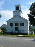 The Union Christian Church was built in 1840 and dedicated as a Congregational Church in 1842. It is in the Greek Revival style.