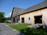 The Wilder Barn and Horse Barn, which were reconstructed in 2003, are a recreation of the original 1875 barn that was torn down.