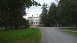 Driveway leading to Springwood, the Roosevelt family house.