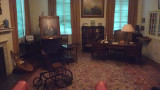 Reproduction of Franklin's Study in the FDR Library & Museum.