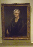Portrait of FDR's domineering and doting mother, Sara.  His father, James, was much older and was 54 when Franklin was born.