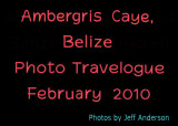 Ambergris Caye cover page.