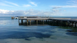 Another pier along the water.