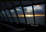 Sunset from The Navigator lounge