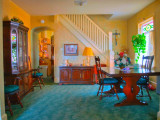 HDR adds a colorful flair to our dining room.