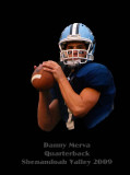 Danny Merva - Shenandoah Valley H.S. Quarterback