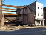 Downtown Burned Out Building - Shenandoah, PA