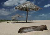 umbrellas at the beach 2-Barbuda