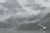 fog and snow-Glacier Bay