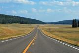 Road to Grand Canyon North Rim