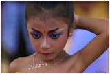 Make up for Legong dance.