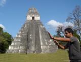 Apoyando el Templo del Gran Jaguar
