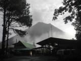Arenal Observatory Lodge in the Morning Mist