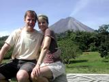 Robin & Chip - Arenal Volcano