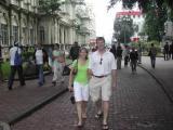Robin & Chip Strolling in Downtown San Jose