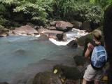 Robin Checking Out River Celeste