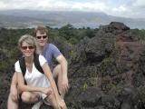 Robin & Chip - Arenal Lava Field