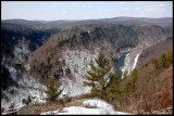Winter Canyon from Leonard Harrison St Pk.