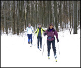 Cross Country skiing, Patterson Park