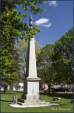 Civil War monument.