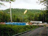 Marcellus Gas Well Drilling Site