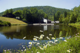 Lumber Museum Sawmill pond
