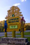 Lumber Museum Sign