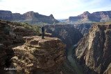 Ben at Plateau Point