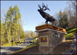 Entrance to Elk Country Visitors Center