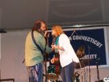 Allison Moorer and Steve Earle in New Haven 2008