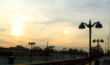 Flushing train station - diffraction distraction