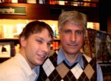 Bob and author Steve Berry
