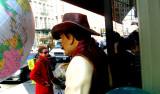 Balloon man on West Broadway