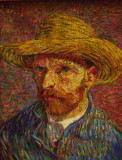 Van Gogh self-portrait at the Metropolitan Museum