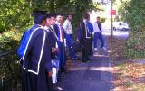 Newly minted grads at Brookes University