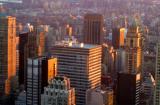 A Midtown sunset