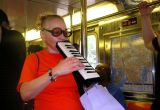 A concert on the number 7 train