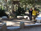 At Johnny Mercer's grave