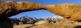 Alabama Hills Arch Panorama