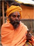 Baba G with his Chillum in Khirganga- a small place deep in the Parvati valley, northern india.