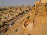 View from the Fort in Jaislamer Rajasthan,