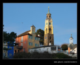 The Village from the Quayside, Portmeirion 2009