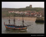 Endeavour Returns, Whitby, North Yorkshire