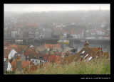 Whitby from St Mary's Church, North Yorkshire